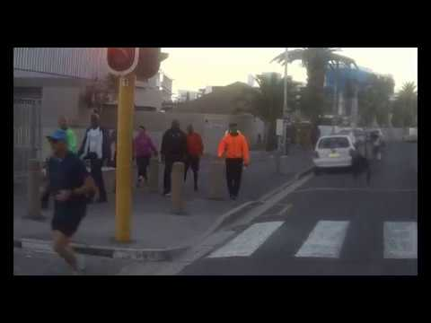 Cyril Ramaphosa taking a walk in Bantry Bay (Cape Town) - Best viewed in 480p and higher