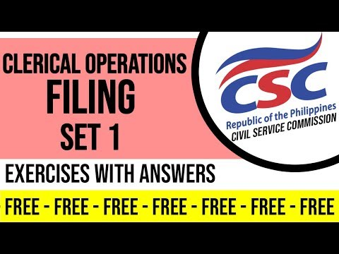 clerical-operations-filing-exercises-set-1
