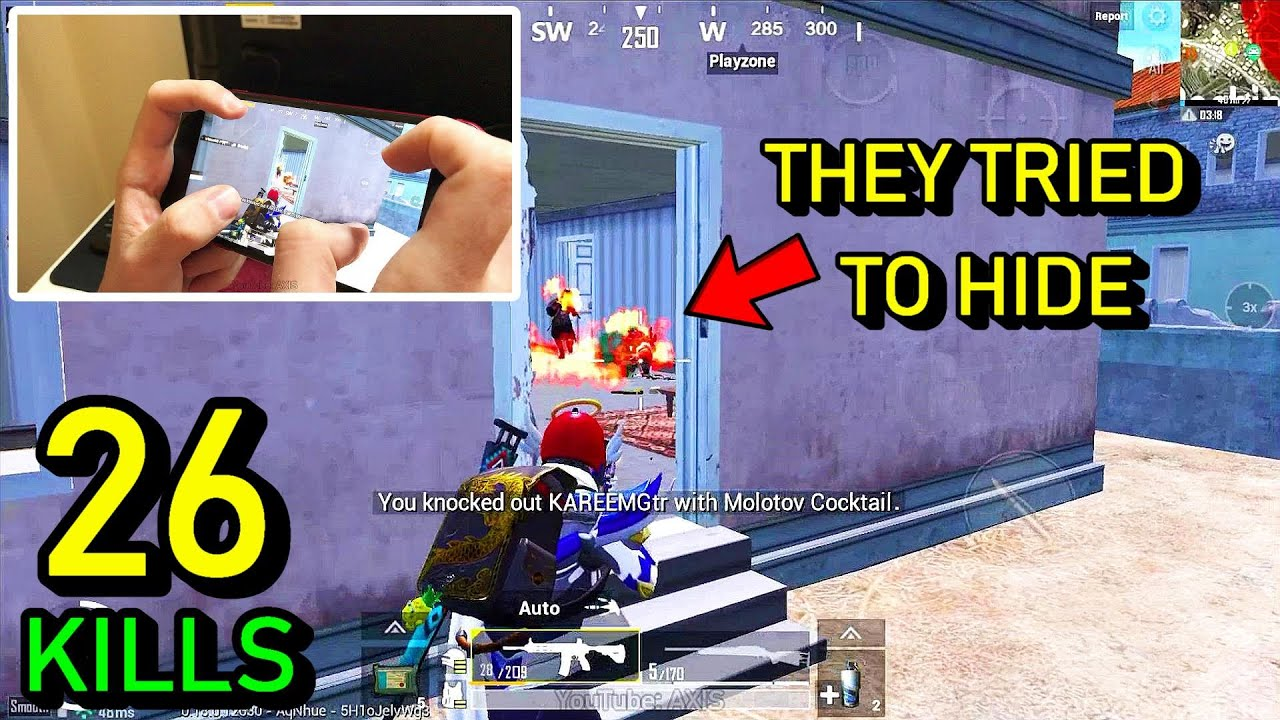 This is why I love Molotov | 4 Finger Claw Handcam Pubg Mobile