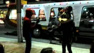 Homem Aranha e Minnie - Dançando Aí se eu te pego - Cabo Frio