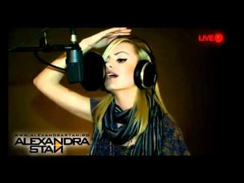 Alexandra Stan singing Rihanna's song Take A Bow