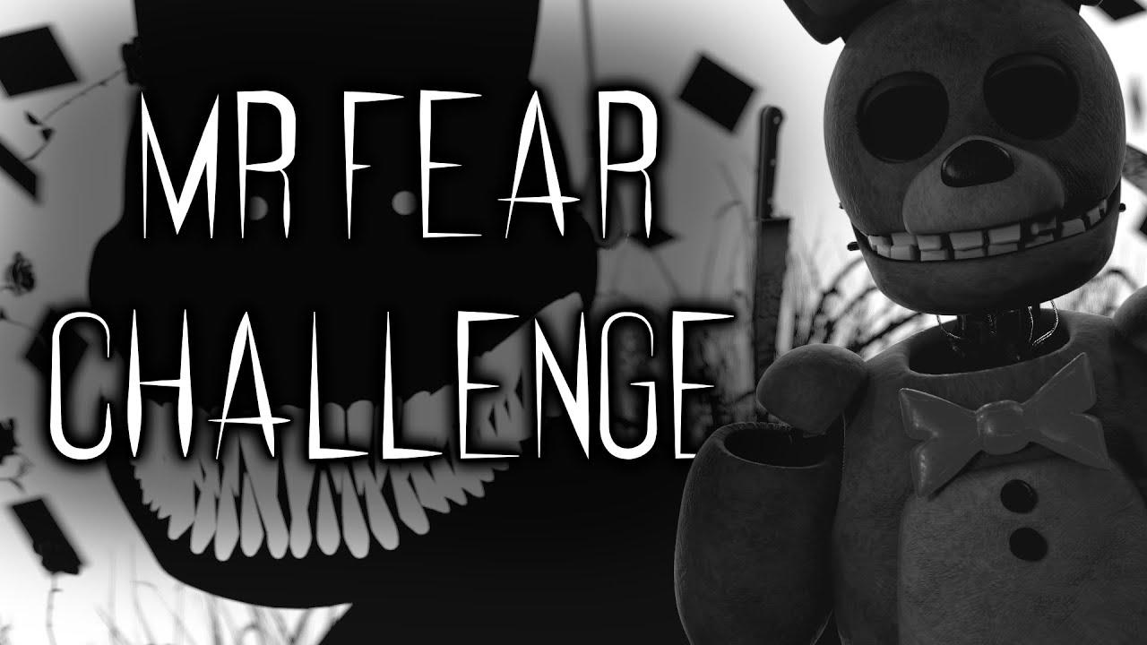 """[FNAF/SFM] """"Mr Fear Challenge"""" - #mrjumpscarechallenge"""