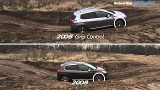 Peugeot 2008 Off-Road Test: GRIP Control System