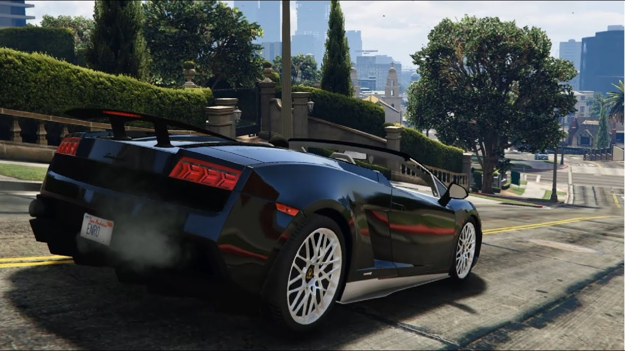 Gta V Lamborghini Gallardo Lp 570 4 Spyder Mods Modification