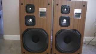Kenwood Lsk-703 3 Way Speakers