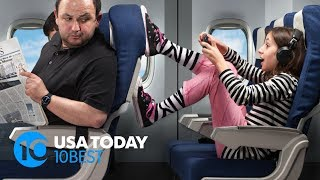 These are 5 most annoying flight passengers | 10Best