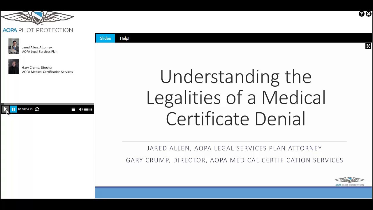 Understanding The Legalities Of A Medical Certificate Denial Youtube