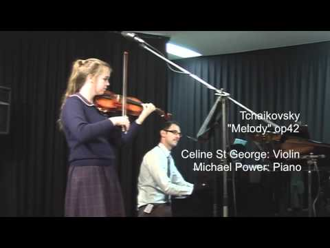 Celine StGeorge 2012 ACO Academy audition