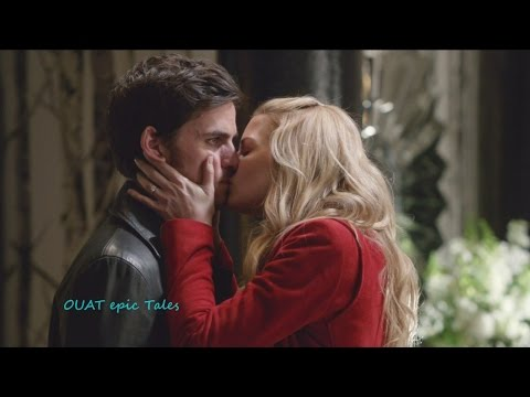 Once Upon A Time 6x20  Emma Kisses Frozen Hook & Finds  all Others Not Moving Season 6 Episode 20