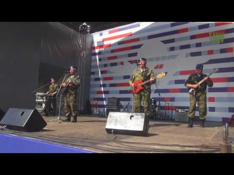 Голубые Береты - Знамя Гвардейского Полка