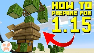 Do These Things BEFORE MINECRAFT 1.15!