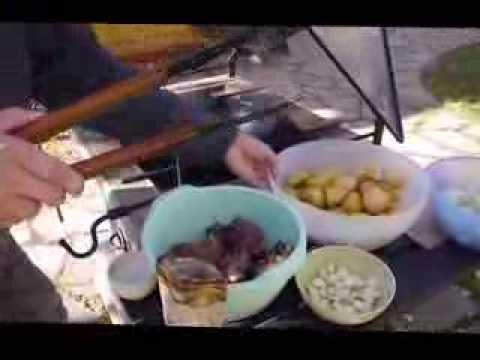 Баранина с картошкой в казане. Видеорецепт от Сергея Швырева