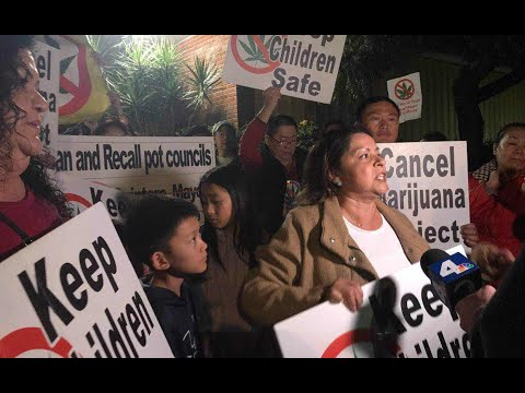 El Monte Post Council Meeting Rally