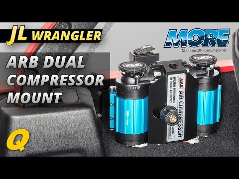 Mountain Offroad ARB18 ARB Dual Air Compressor Mount for Jeep Wrangler JL Unlimited