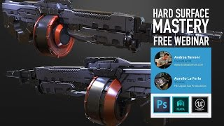 Workshop Gratuito - Hard Surface Mastery