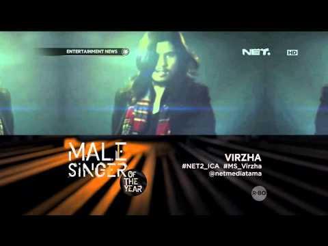Virzha sebagai nominasi Male Singer of The Year ICA 2015
