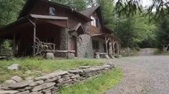 The Poconos, Pennsylvania - Rustic Rental House on 31 Private Acres w/ Own Lake - Sleeps 8