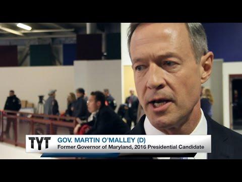 Gov. Martin O'Malley on #TYTLive following #DemDebate New Hampshire