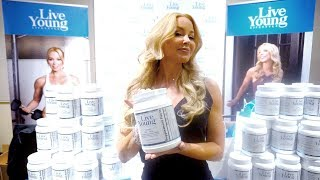 Live Young Anti-Aging Vitamin launch at The Hollywood Show