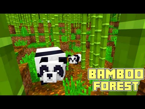 The Easiest Way To Find Bamboo Forest In Mcpe 1 9 Bamboo Forest