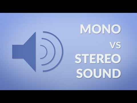 Mono vs Stereo Sound