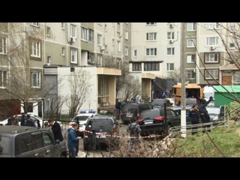 LIVE: Police robot to demine explosives found in Moscow basement
