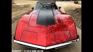 1971 CHEVROLET CORVETTE STINGRAY C3 RESTOMOD FOR SALE $49,995 WWW.MROLDCAR.COM
