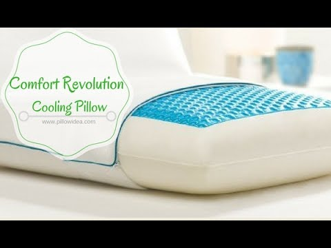 Comfort Revolution Hydraluxe Gel Memory Foam Pillow Review and