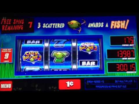 catch the big one slot machine