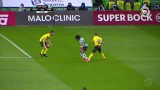 Golo de Bryan Ruiz: Sporting (2)-0 Paços Ferreira (Liga 29ªJ)