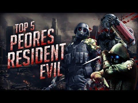 Top 5 Los Peores juegos de Resident Evil