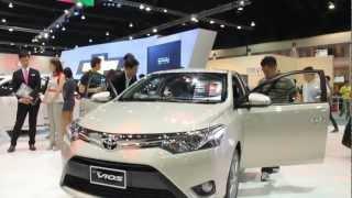 Video Toyota All New Vios 2013 @ Motor Show 2013 download MP3, 3GP, MP4, WEBM, AVI, FLV Juni 2018