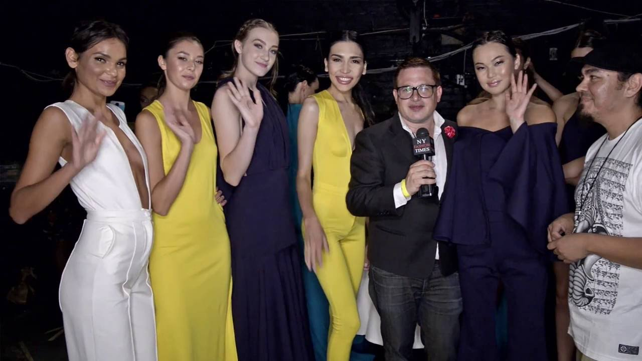 Mario De La Torre And Models Interviewed At Style Fashion Week Youtube