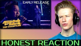 "HONEST REACTION to Marcelito Pomoy Sings ""Beauty And The Beast"" With DUAL VOICES!"