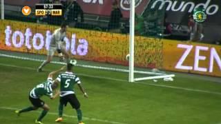 I Liga| Sporting 3-2 Marítimo (Época 13/14) - Resumo
