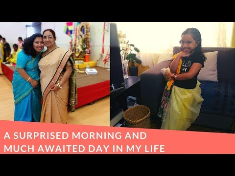 Bengali Family Vlog -A Surprised Morning And Much Awaited Day In My Life!