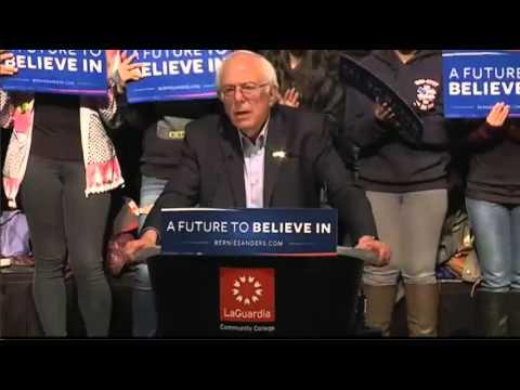 Bernie Sanders Long Island City FULL Speech