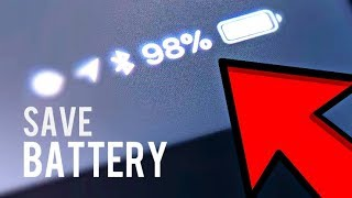 How to save battery life on iPhone 6 (Or any iPhone) BEST TUTORIAL