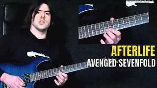 """Afterlife"" by Avenged Sevenfold - Guitar Lesson w/TAB - MasterThatRiff! 69"