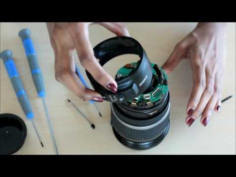 How to repair a canon 17 55 mm lens