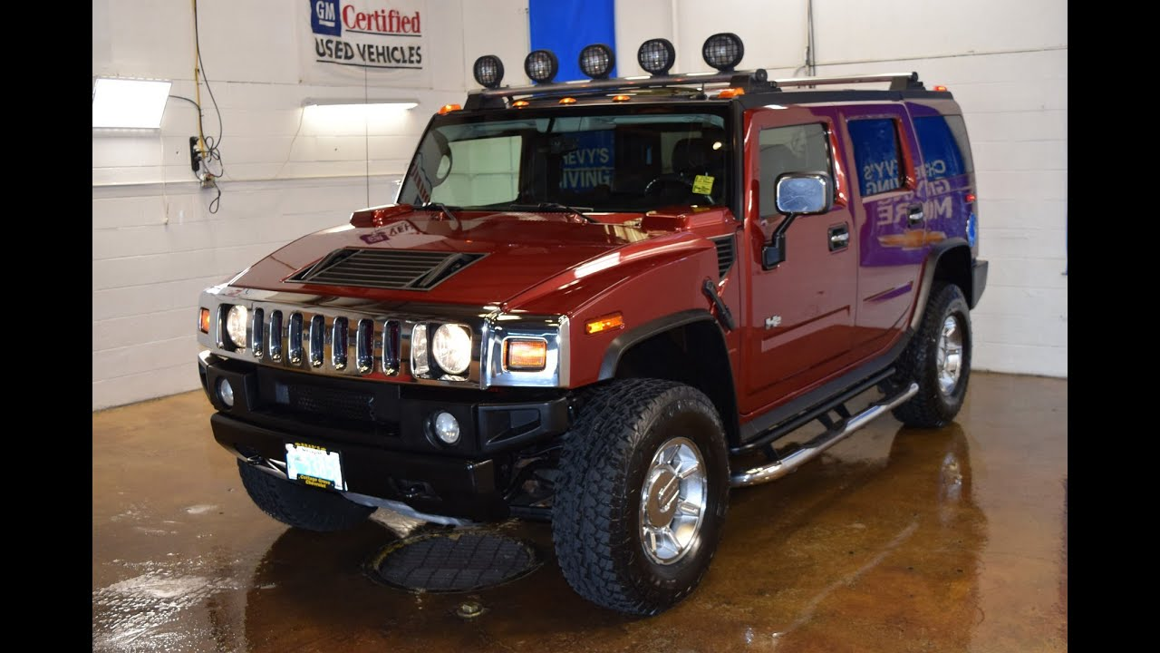 2005 Hummer H2 With Luxury Package Stock 2773X