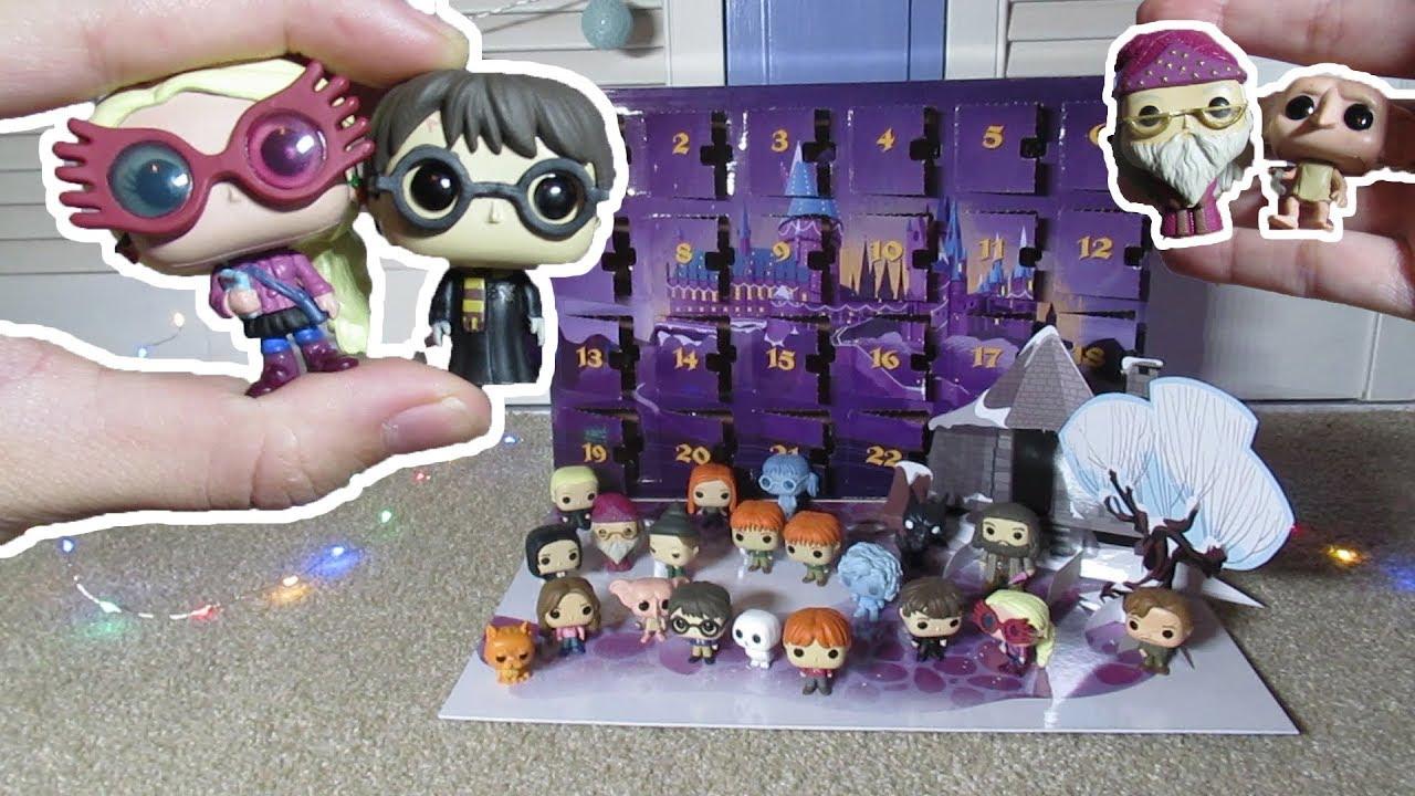 Weihnachtskalender Harry Potter.Harry Potter Funko Pop Adventskalender Unboxen Giveaway