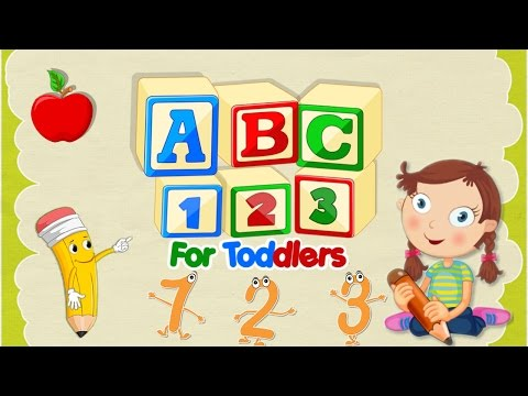 ABC 123 For Toddlers - Preschool Toddler Learning Games By Gameiva