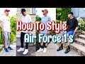 HOW TO STYLE NIKE AIR FORCE 1 SNEAKERS - NIKE AF 1 LOOKBOOK