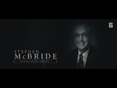 Stephen McBride: Kansas Monk Award Recipient - Benedictine College