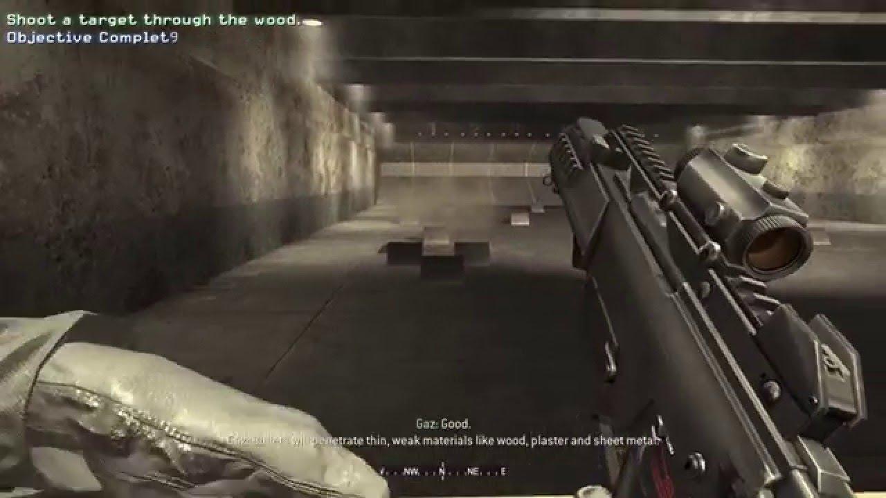 Call Of Duty 4 Modern Warfare Fng Level 1 Training