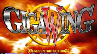 GigaWing (Dreamcast) - Nighttime Battle