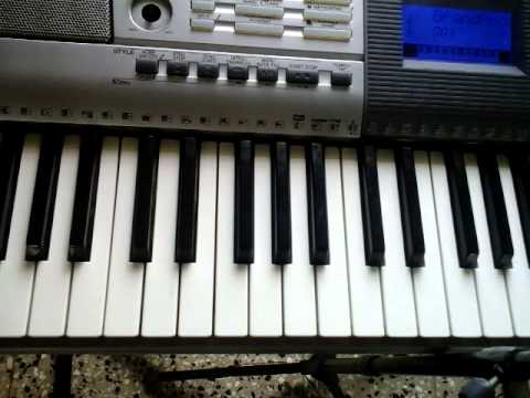 Video Tutorial How To Play Chord Dm Chord Em On Piano Keyboard