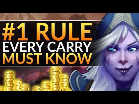 How YOU Will CARRY EVERY GAME - The #1 RULE For Carry And Midlane - INSANE FARM - Dota 2 Pro Guide