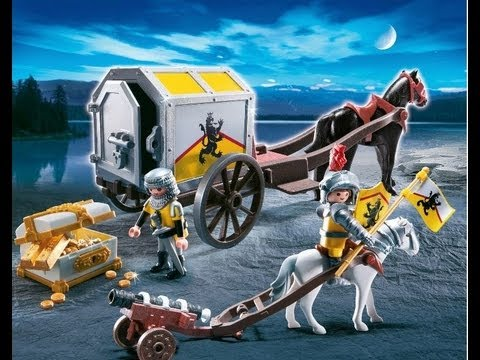 Playmobil caballeros chevalier knights youtube for Playmobil caballeros